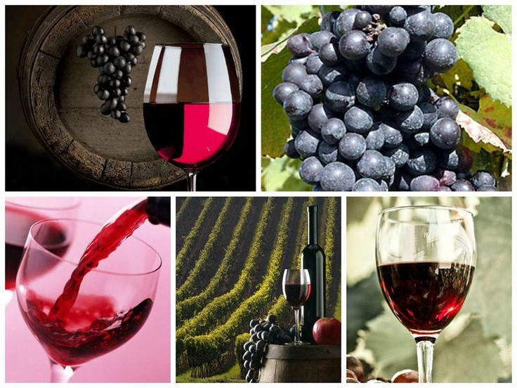 Красное вино Кра́сное вино́ — вино, произведённое из красных сортов винограда по технологии, обеспечивающей переход антоцианов из кожицы в сусло. Красные вина богаты дубильными веще...