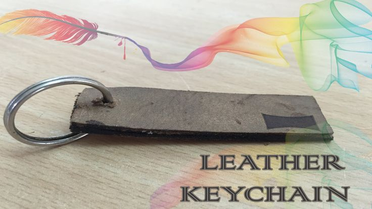 How to make Leather Keychain