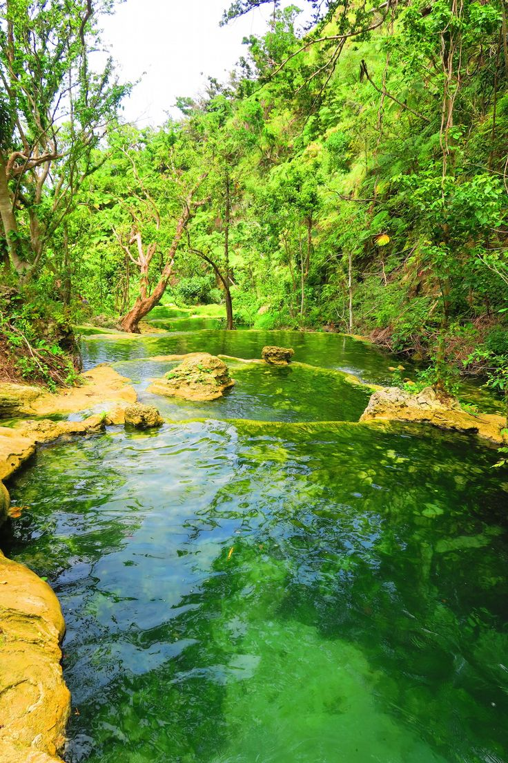 The Mele Cascades just outside Port Vila in Vanuatu