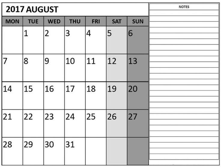 Best  August Calendar Images On   August Calendar