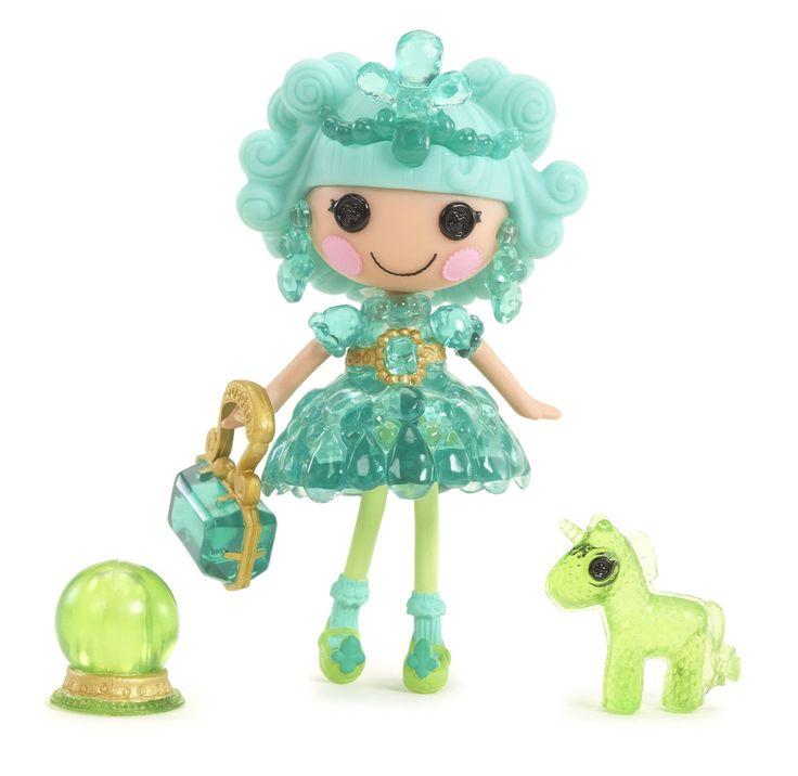 AmazonSmile: Mini Lalaloopsy Doll- Clarity Glitter Gazer: Toys & Games