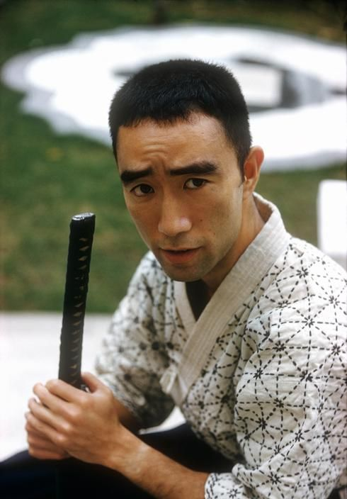 Yukio Mishima - 1961 ~ 三島由紀夫 (Kimitake Hiraoka 平岡 公威), January 14, 1925 – November 25, 1970. Japanese author, poet, playwright, actor, and film director. Mishima is considered one of the most important Japanese authors of the 20th century,