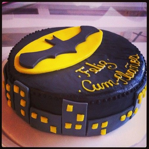 Natalio Remolacho Torta Batman