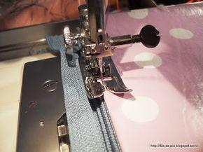 tutorial cucire la cerniera