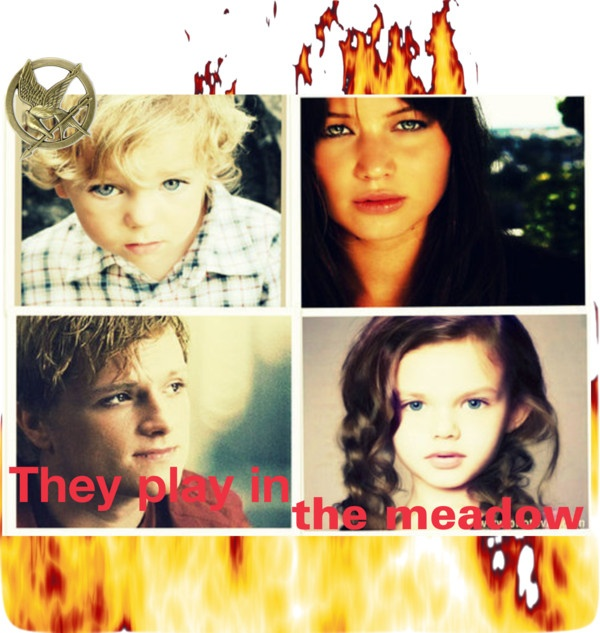 """Showcase #5 Katniss and Peeta's kids"" by marta-mellark ..."