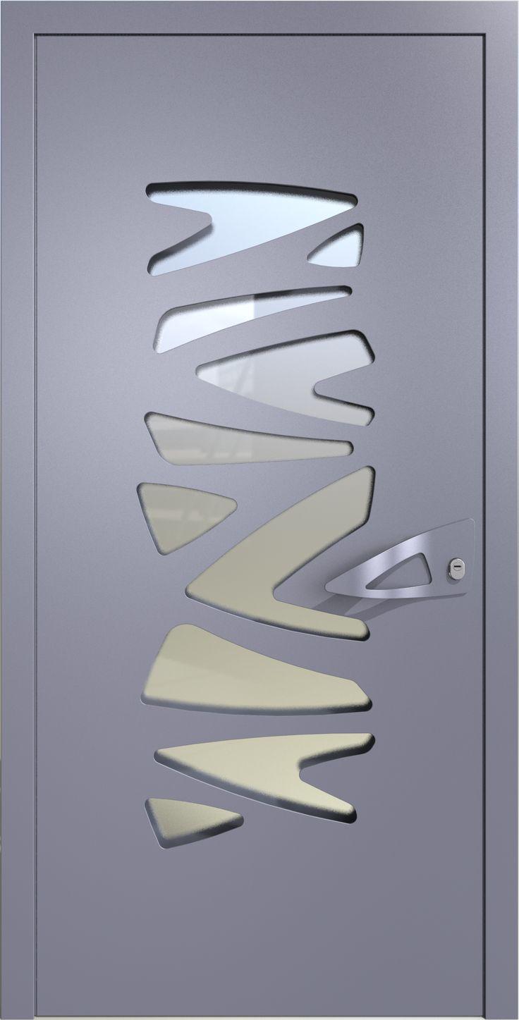 דלת כניסה אדווה,דלתות כניסה מעוצבות בנגיעה אומנותית ליין - ART - רשפים