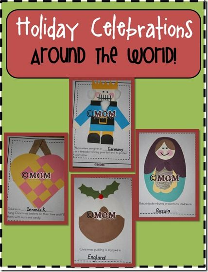 Holiday Celebrations Around the World Keepsake Book (not free)