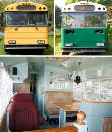 116 Best Images About Rv Remodel And School Bus On