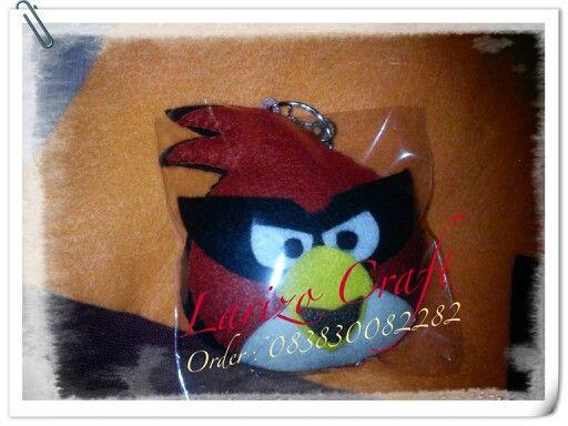 Angry bird #flanel#felt#handmade