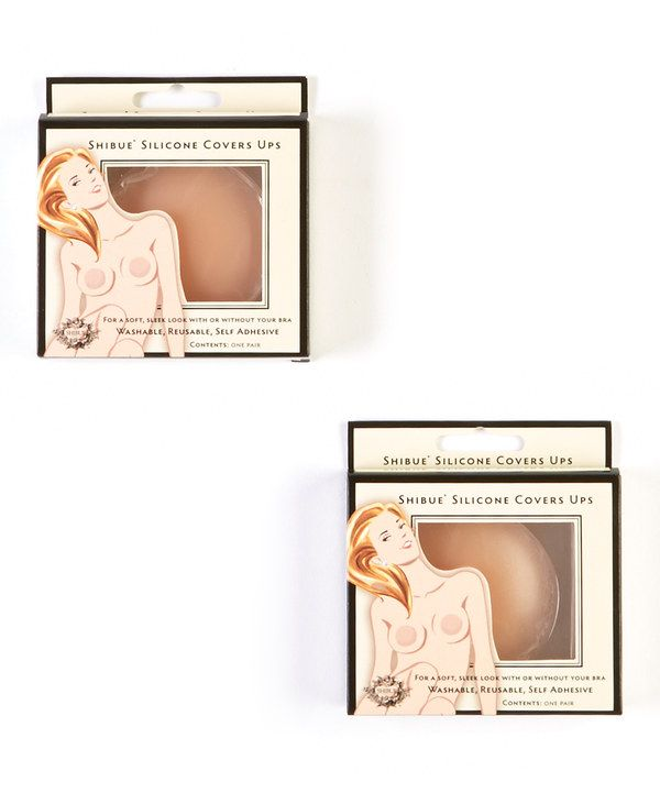 Look at this Shibue Couture Two-Piece Nude Concealer Breast Petals Set on #zulily today!