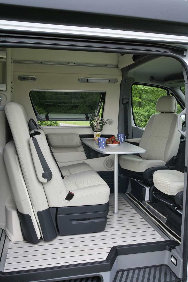 Interior of the very plush Westfalia James Cook Mercedes Sprinter RV. ** Check this useful article by going to the link at the image. #Outdoor