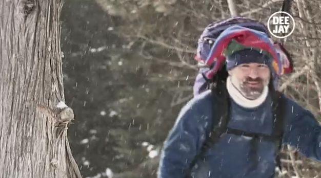 "Domani #deejaytv gli eroi della ""Canadian Ski Marathon"" #sport #sportestremi #radiodeejay"