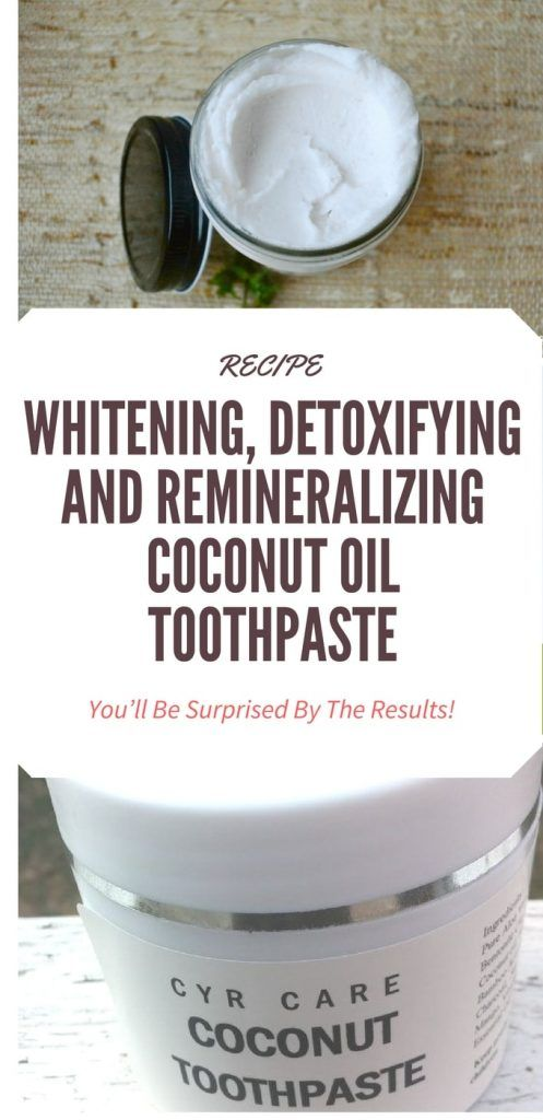 Whitening, Detoxifying And Remineralizing Coconut Oil Toothpaste