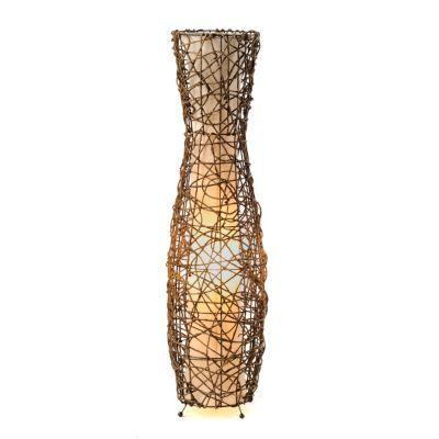 Fluted Rattan Floor Lamp | Kirkland's