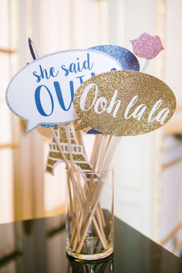 Fun wedding details you'll want to add to your reception: http://www.stylemepretty.com/destination-weddings/france-weddings/2016/08/20/elegant-and-romantic-paris-wedding/ Photography: Catherine O'Hara - http://www.catherineohara.com/#about