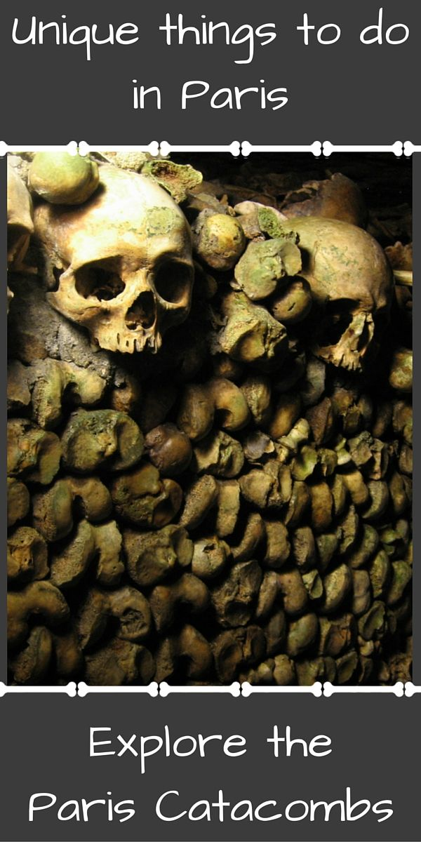Paris is famous for places like the Eiffel Tower, the Louvre, and Notre Dame. Have you taken the time to visit the secrets beneath the city, though? Visiting the Paris catacombs affords a completely new view of the city.
