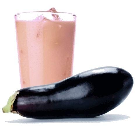 bevendo questo succo tutti i giorni prima del pasto principale ridurrete il Colesterolo e l'assorbimento di grassi.. Ing. -una melanzana grande -1/2 acqua -succo di un limone. Prep: sbucciare e tagliare la melanzana a cubetti, riponetela in un recipiente con acqua fredda (1/2 l ), lasciarla a bagno 2 ore. Cuocere per 7 m. e agg. il limone. far riposare dieci minuti. frullare il tutto per un succo più equilibrato.
