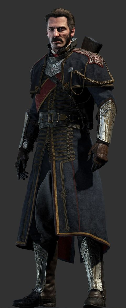Sir Galahad - main character in The Order: 1886 and a leader of the team - Heroes - The Order: 1886 (coming soon) - Game Guide and Walkthrough
