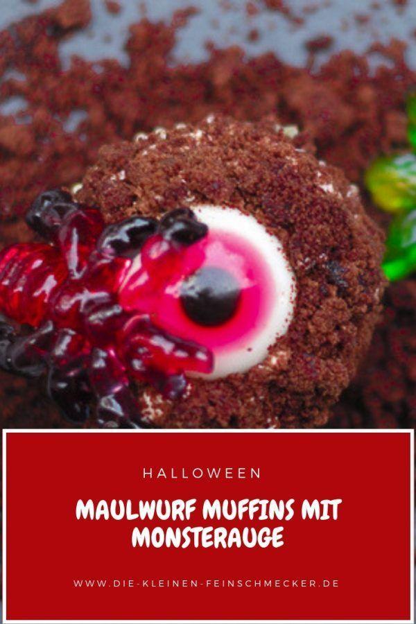Maulwurf Muffins Mit Monsteraugen Halloween Rezepte Fur Kinder Snacks Fur Party Und Halloween Essen