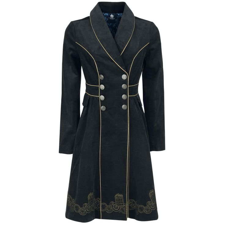 Doctor Who - Tardis coat