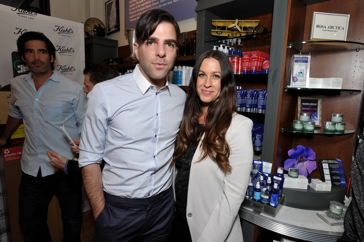 Alanis Morissette and Zachary Quinto Celebrate Earth Day With Kiehls