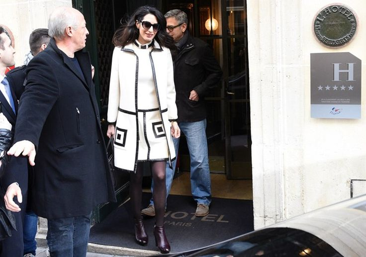 Mulher do ator alerta: ou Clooney deixa de beber ou a advogada ameaça sair de casa ainda antes do nascimento dos gémeos. Um filme igual ao que viveu Brad Pitt.