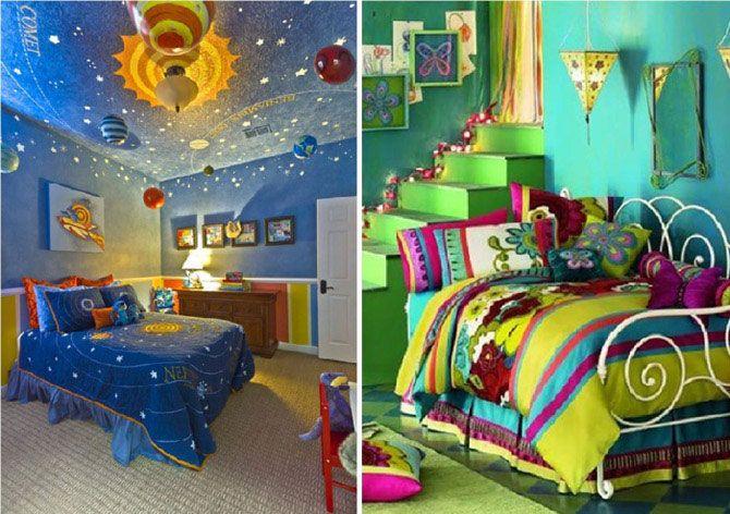 Сказочные детские комнаты