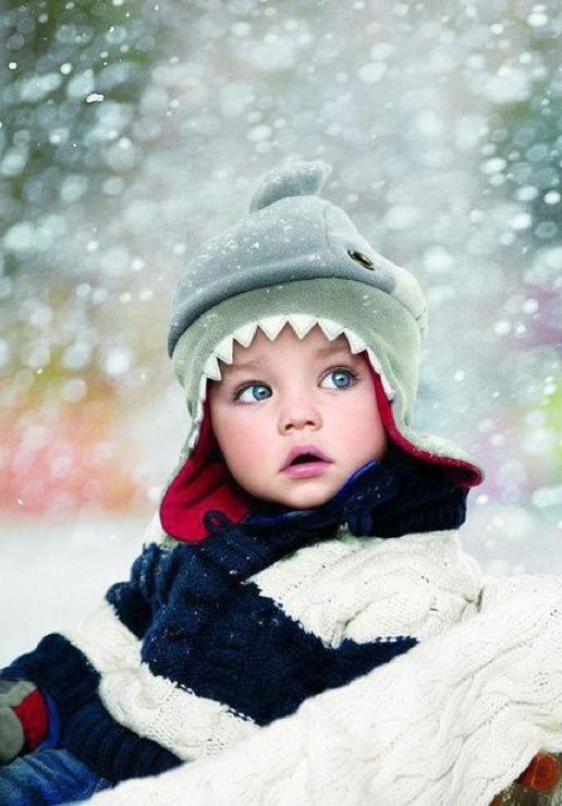 What a beautiful child and photograph