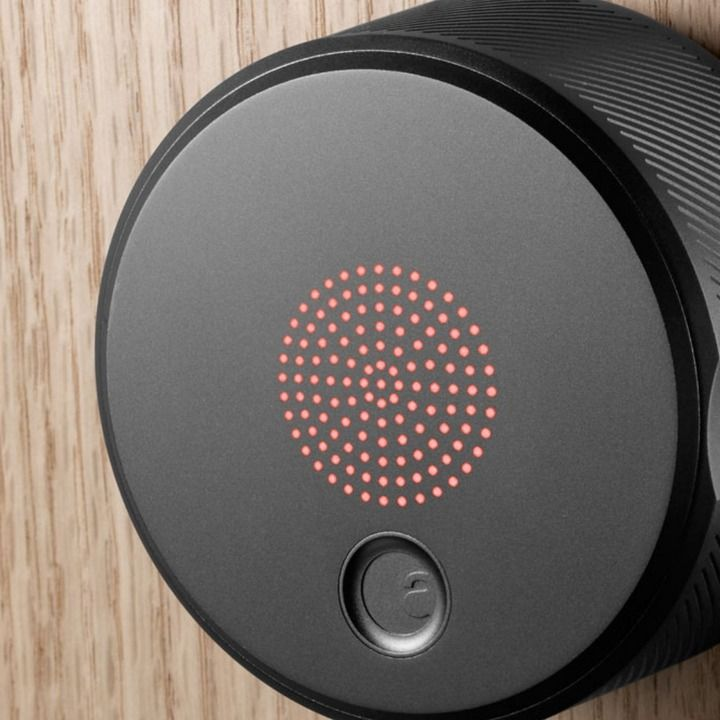 The August Smart Lock lets you open your door with your smartphone.