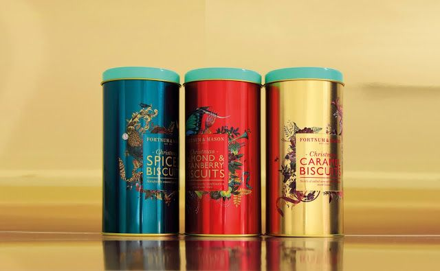 Fortnum & Mason Christmas Range on Packaging of the World - Creative Package Design Gallery