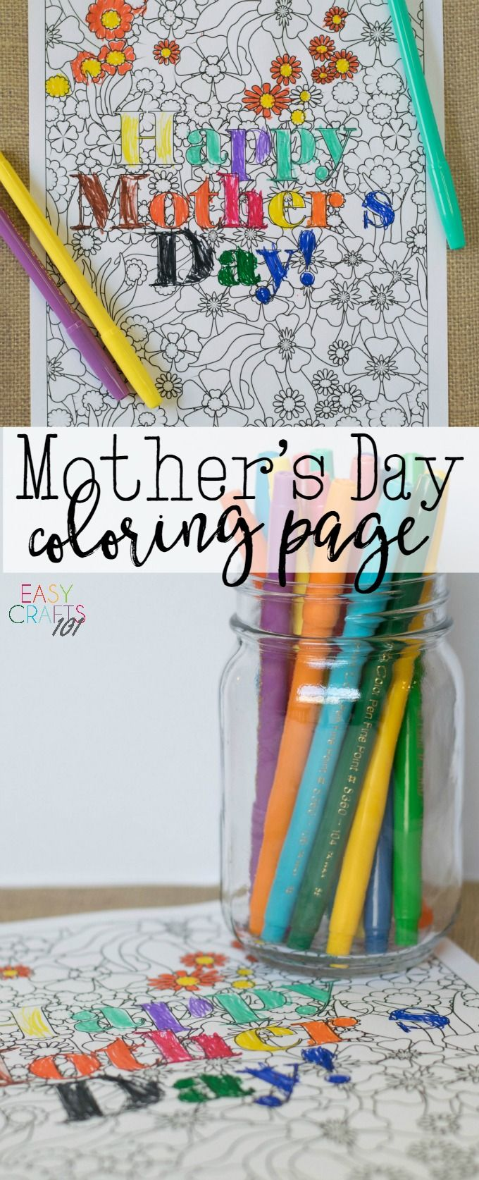 Mothers day coloring sheets for sunday school - Get Your Free Mother S Day Coloring Page Here Kids Will Love Coloring