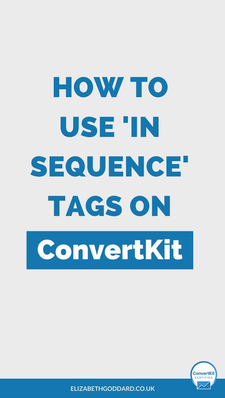 Read my ConvertKit Tutorial on how to use a newsletter tag to only start sending newsletter broadcasts to subscribers after they've finished the welcome sequence. Click through to my website to find out how to use ConvertKit. Entrepreneur Tips | Email Marketing Tips | Email Automation