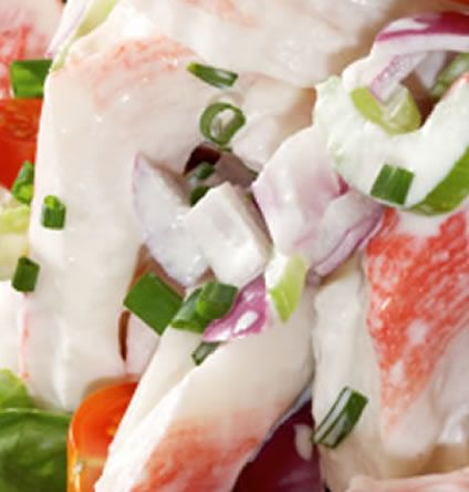 Crab Meat Salad with Lime Mayonnaise | AmazingSeafoodRecipes