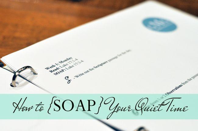 SOAP-Quiet-Time