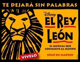 El Musical 'El Rey León' en Madrid // the musical 'El Rey León' (The Lion King) in Madrid