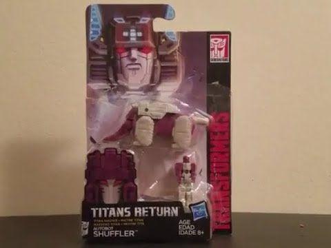 Transformers Titans Return Autobot Shuffler Titan Master Figure Review