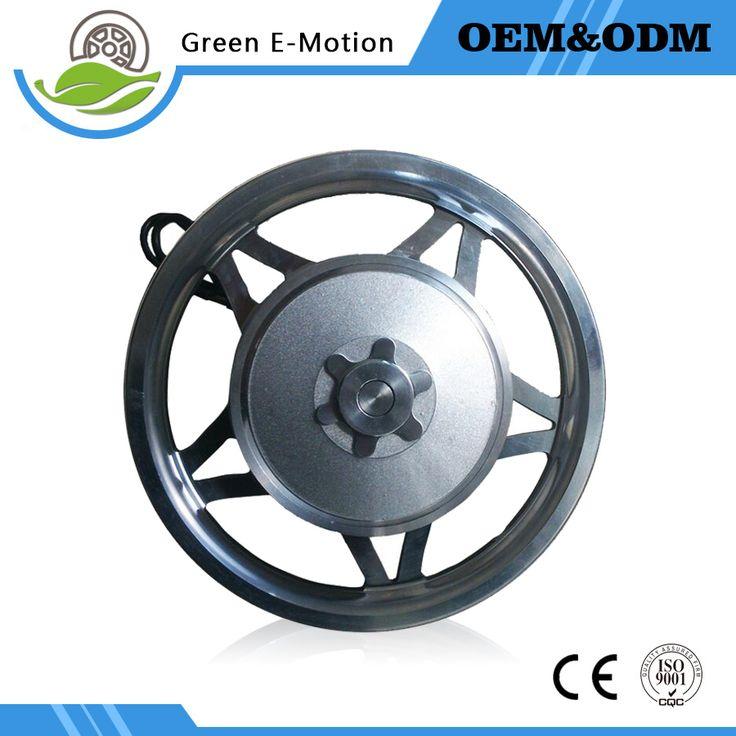 powerful electric brushless gear hub motor 12''24v200W/250W/300Welectric robot motor electric wheelbarrow golf carts motor wheel