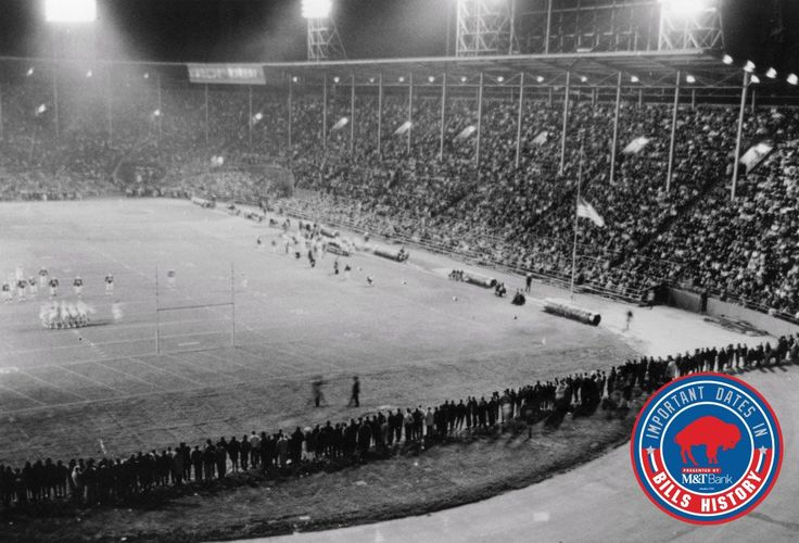 Buffalo Bills ‏@buffalobills  1h1 hour ago More  On this date in 1960, the first Bills season ticket was sold at War Memorial Stadium.  The history: http://bufbills.co/PAQ95B