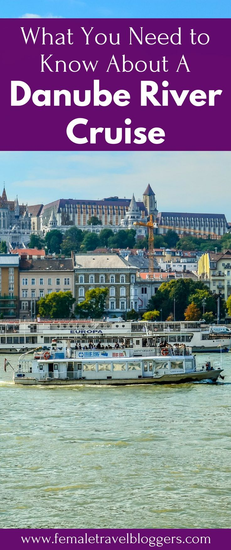 Are you looking for a unique way to travel through Europe? We've got you covered. Come check out why we loved this river cruise on the Danube River in Europe. Don't forget to save this epic cruise to your travel board so you can wake up in a new European city every day too! #rivercruise #danuberivercruise #europetravel