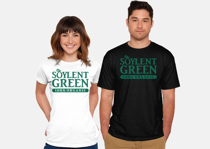 Wholly Organic T-Shirt - Soylent Green T-Shirt is $12 today at TeeFury!