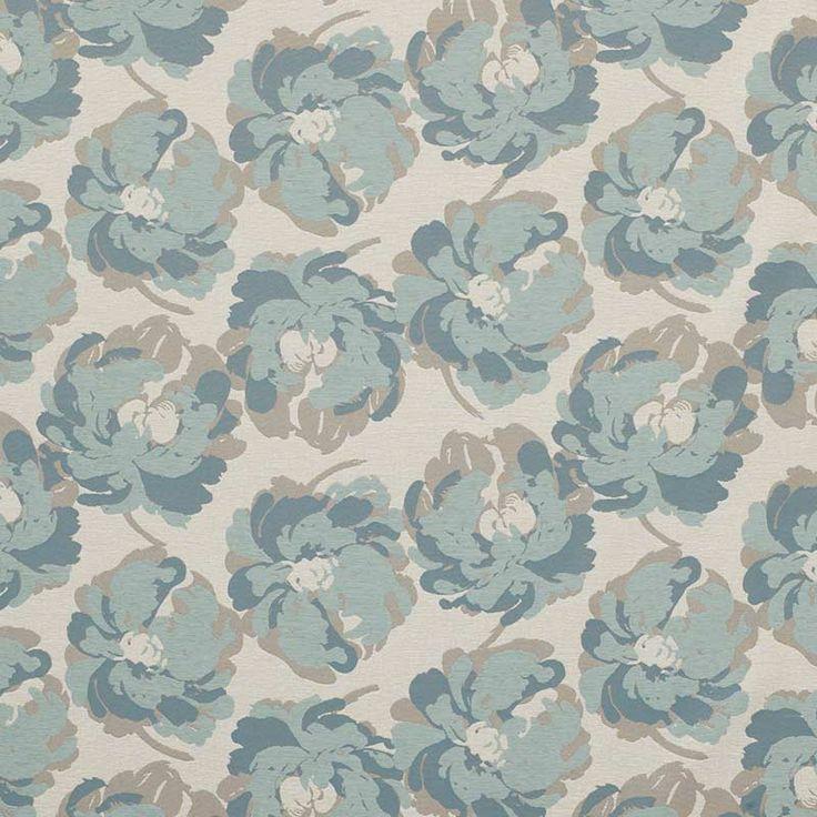Warwick Fabrics : JACOBSON, Colour DUCKEGG