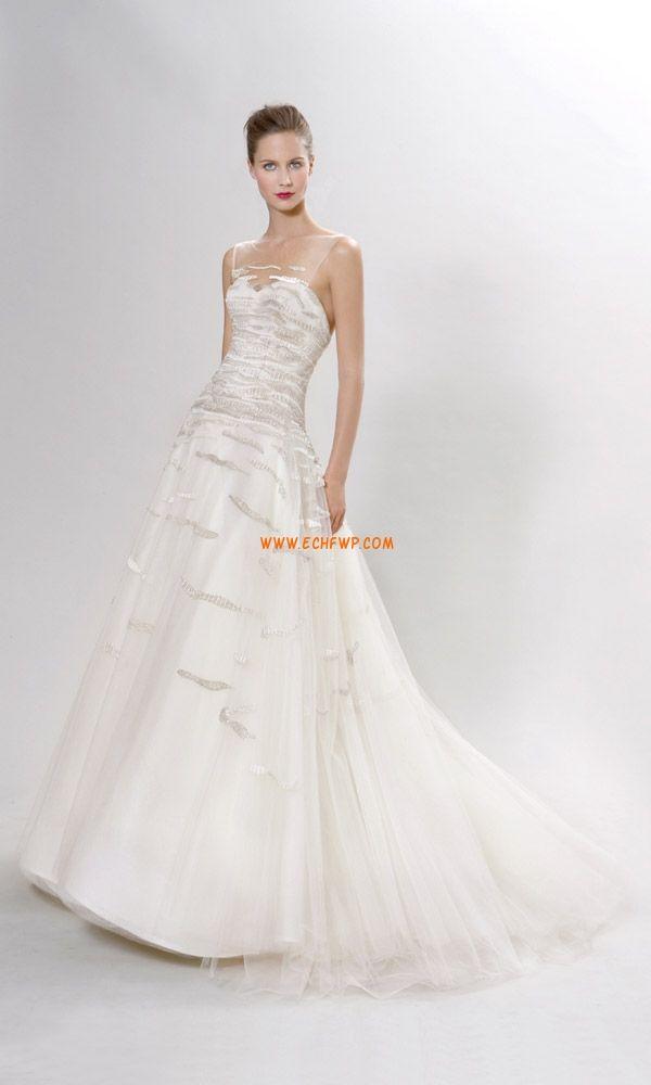 Tulle Eté Perle Robes de mariée 2014
