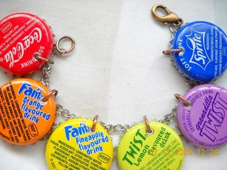 Bottle Cap Bracelet