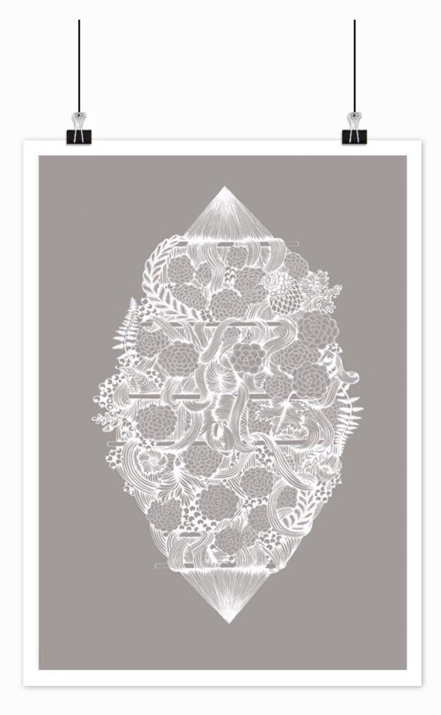 Illustration, 40x50 cm 250,-