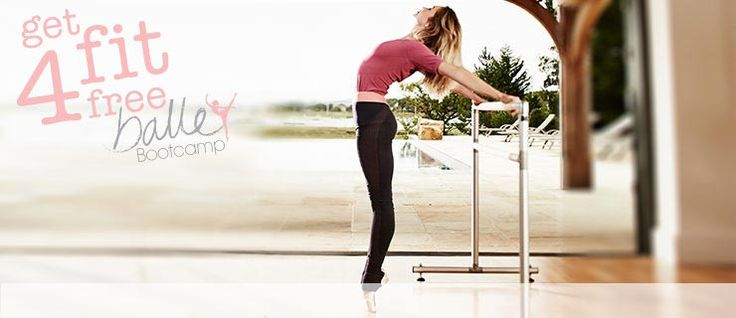 Free online ballet workout with Sweaty Betty - available from 5 Feb