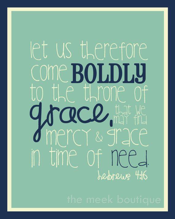 hebrews 4:16 printable