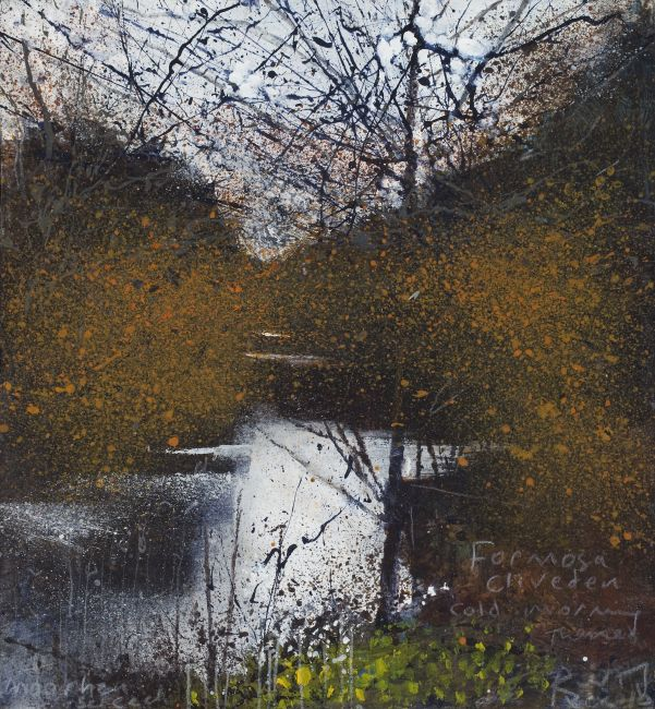 Formosa, Cliveden, cold morning. October 2010 in KURT JACKSON from The Redfern Gallery