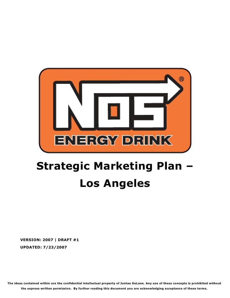 nos-strategic-marketing-plan by Jay DeLane via Slideshare