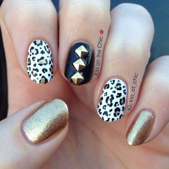 1000 images about golden nails on pinterest nail art - Fotos de comedores elegantes ...