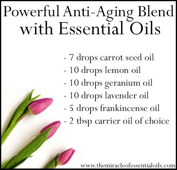 DIY Powerful Anti-Aging Essential Oil Blend Customized for Your Skin Type